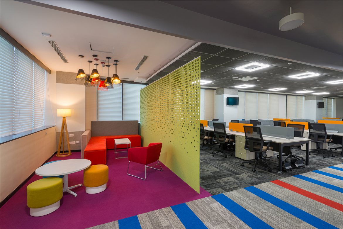 Corporate office interior designing firms in delhi ncr architects interior designers company for The institute of interior design